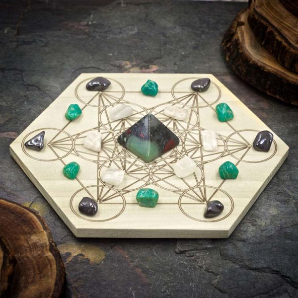 Psychic Gifts Mini Crystal Grid Set