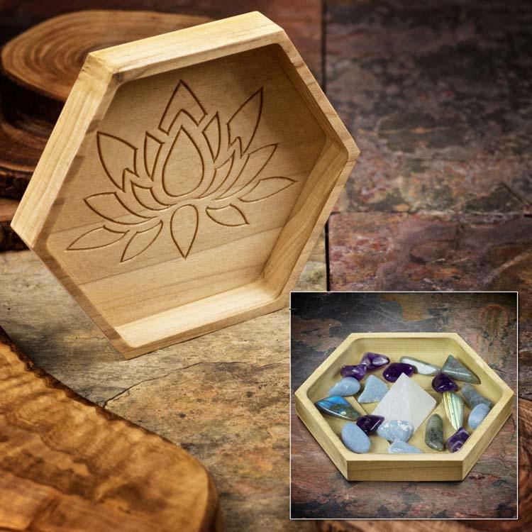 Strengthen Spiritual Power Large Crystal Grid Set