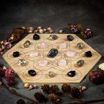 Dissolve Grief Large Crystal Grid Set