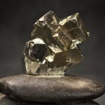 Pyrite Cube Clusters