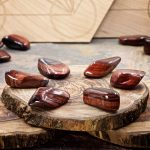 Red Tiger Eye Crystals for Grids