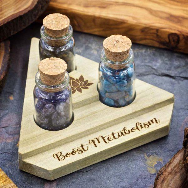 Boost Metabolism Mini Crystal Apothecary Set
