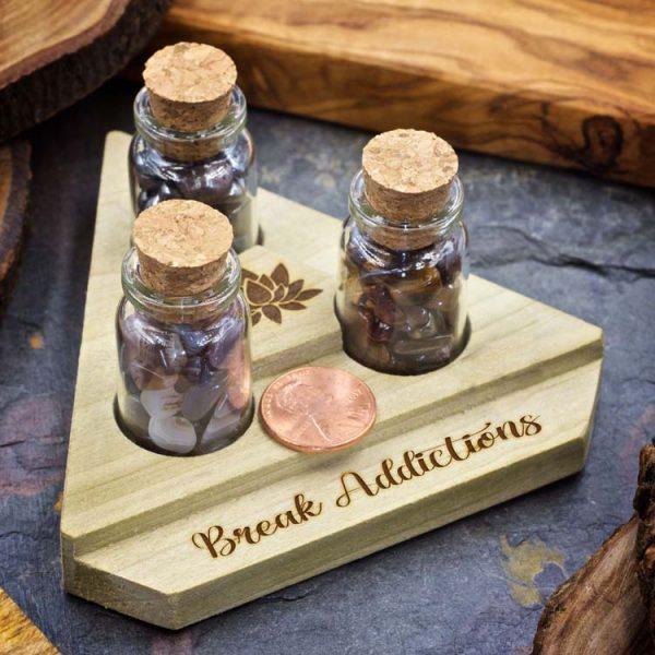 Break Addictions Mini Crystal Apothecary Set