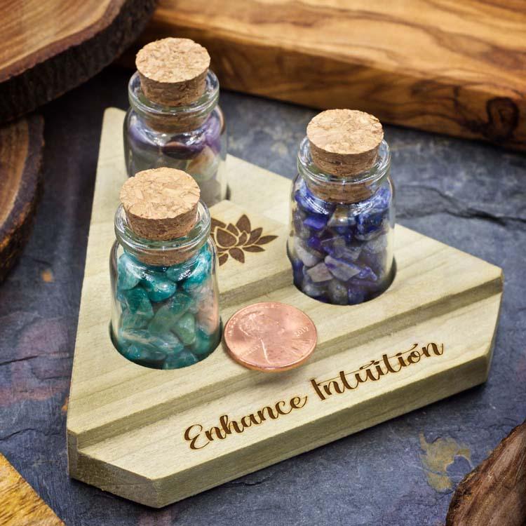 Enhance Intuition Mini Crystal Apothecary Set