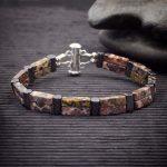 Leopard Skin Jasper Double Power Bracelet