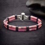 Rhodonite Double Power Bracelet