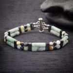 Amazonite Double Power Bracelet