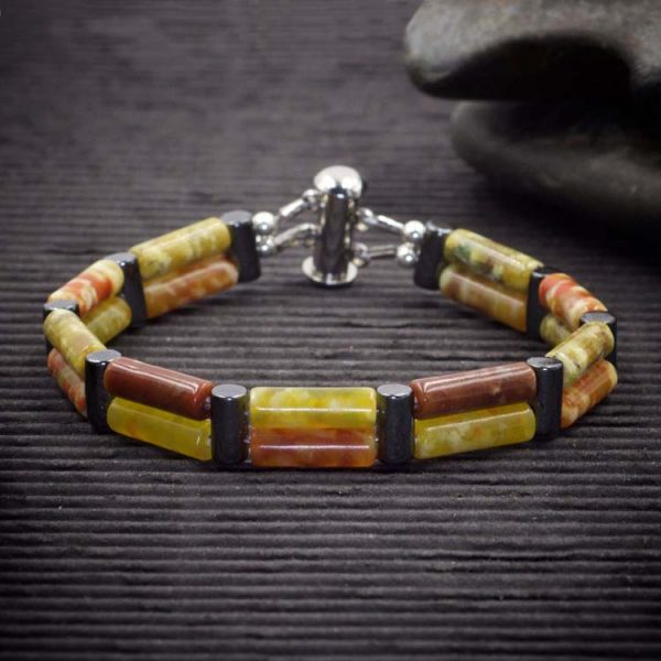 Dragons Blood Serpentine Double Power Bracelet