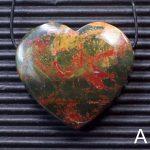 Red Creek Jasper Heart Pendants