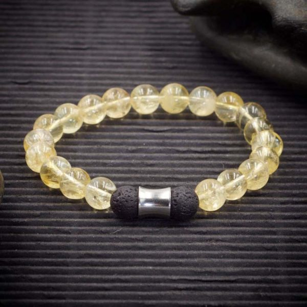 Citrine Aromatherapy Bracelet