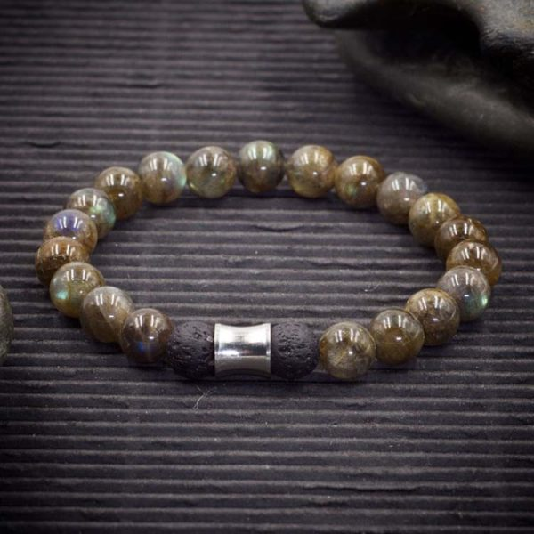 Labradorite Aromatherapy Bracelet