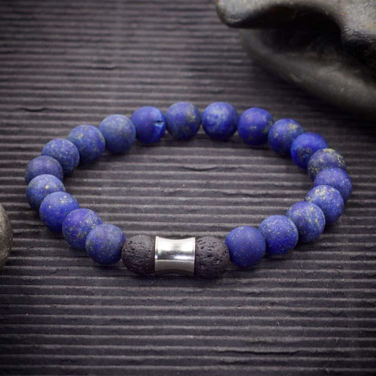 Lapis Lazuli Aromatherapy Bracelet