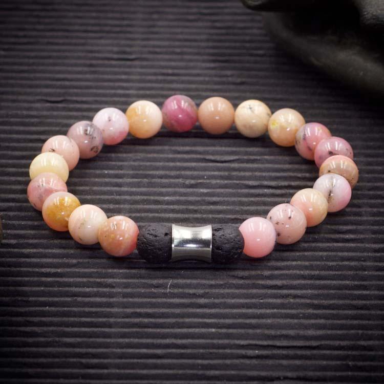 Pink Opal Aromatherapy Bracelet