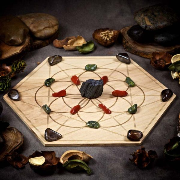 Protection and Grounding Large Crystal Grid Set