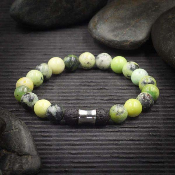 Chrysoprase Aromatherapy Bracelet